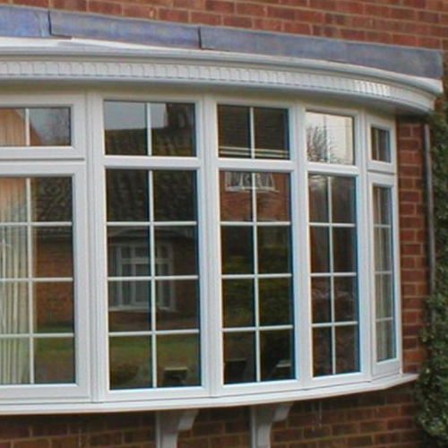 Firmfix double glazed Bow window Hereford