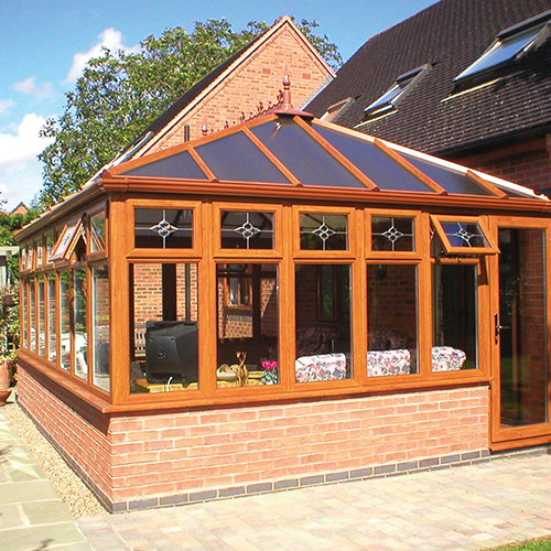 Edwardian Conservatories by Firmfix double glazing Cheltenham