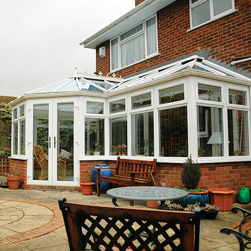 P Shaped conservatories manufactured & installed Worcester